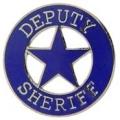 """PIN-BDG, SHERIFF, DEPUTY (1"""")"""