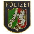 """PIN-BDG, FORN, GERM. POLICE (1"""")"""