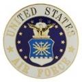 """PIN-USAF LOGO, XLG (1-1/2"""")"""