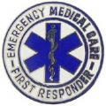 "PIN-EMS, 1ST RESPONDER, LRG (1-1/2"")"
