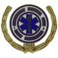 "PIN-EMS, 1ST RESPONDER W/ WREATH (1"")"