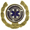 "PIN-EMT, LOGO-WREATH (1"")"