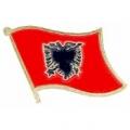 "PIN-ALBANIA (FLAG) (1"")"