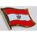 "PIN-AUSTRIA (FLAG) (1"")"