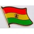 "PIN-BOLIVIA (FLAG) (1"")"