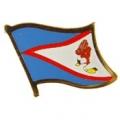 "PIN-AMER. SAMOA (FLAG) (1"")"