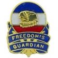"""PIN-ARMY, FREEDOMS GUARDIA (MINI) (1/2"""")"""