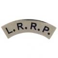 "PIN-ARMY, LRRP, TAB (BLK/SLV) (1-1/4"")"