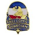 "PIN-ARMY, FREEDOMS GUARDIA (1"")"