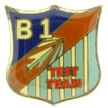 "B-01 TEST TEAM PIN (1"")"