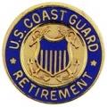 """PIN-USCG, LOGO, RETIRED (MINI) (5/8"""")"""
