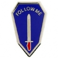 "PIN-ARMY, INF. SCHOOL (SML) (3/4"")"