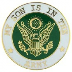 "ARMY SON PIN (7/8"")"