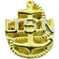 "PIN-USN, CHIEF PET. OFF. BAS (3/4"")"