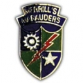 "PIN-ARMY, MERRILLS MARAUD. 5307TH RGT. (1"")"