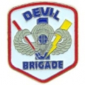 "PIN-ARMY, DEVIL BRIGADE (1"")"