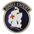 "PIN-ARMY, JUNGLE EXPERT (1"")"