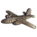 "B-26 MARAUDER PIN (PEWTER) (1-1/2"")"