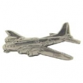 "B-17 FLYING FORTRESS PIN (PEWTER) (1-1/2"")"