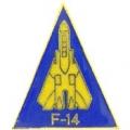 """F-14 LOGO PIN (1"""")"""