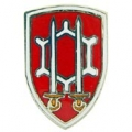 """PIN-ARMY, ENG. COMM. , SHEILD (1"""")"""