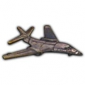 """B-01 LANCER PIN (PEWTER) (1-1/2"""")"""
