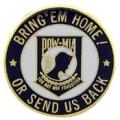 "PIN-POW*MIA, BRING'EM, HOME (1"")"