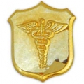 "PIN-USN, CORPSMAN, GOLD (1"")"