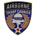 "PIN-ARMY, A/B, TROOP CARR. (1"")"