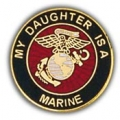 "PIN-USMC LOGO, DAUGHTER (1"")"