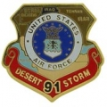 "PIN-DEST. STORM, USAF, MAP (1"")"