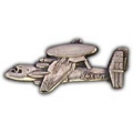 "E-2C HAWKEYE PIN (PEWTER) (1-1/2"")"