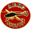 "PIN-ARMY, AERO SCOUTS (1-1/2"")"