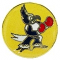 """PIN-USAF, FIGHTING ROOSTER (1"""")"""