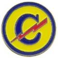 """PIN-ARMY, EROPEAN CONSTABU (1"""")"""