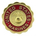 "PIN-USMC LOGO, MARINES (3/4"")"