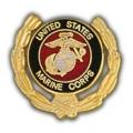 "PIN-USMC LOGO, WREATH (1"")"