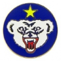 "PIN-ARMY, ALASKAN DEF. COM. (1"")"