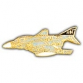 "F-4 PHANTOM PIN (1-1/2"")"