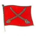 "PIN-ARMY, FLAG, CAVALRY (1"")"