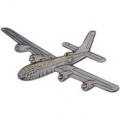 "B-29 SUPERFORTRESS PIN (PEWTER) (2-5/8"")"