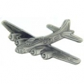 "B-17 FLYING FORTRESS PIN (PEWTER) (2-3/8"")"