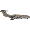 "C-141 STARLIFTER PIN (PEWTER) (2-1/2"")"