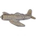 """F-4U CORSAIR PIN (PEWTER) (2-1/4"""")"""