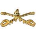 "BDG-ARMY, CAV. SWORDS, 04TH (2-1/4"")"