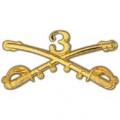 "BDG-ARMY, CAV. SWORDS, 03RD (2-1/4"")"