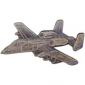 "A-10 THUNDERBOLT PIN (PEWTER) (2-1/2"")"