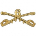 "BDG-ARMY, CAV. SWORDS, 06TH (2-1/4"")"