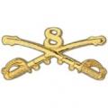 "BDG-ARMY, CAV. SWORDS, 08TH (2-1/4"")"
