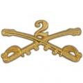 "BDG-ARMY, CAV. SWORDS, 02ND (2-1/4"")"